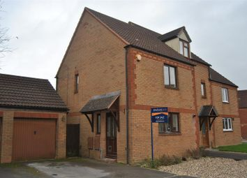Thumbnail 3 bedroom end terrace house for sale in Lea Close, St Andrews Ridge, Swindon