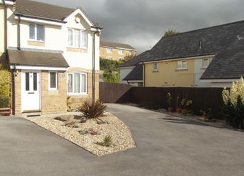 Thumbnail 3 bed terraced house to rent in Gerddi Quarella.., Bridgend