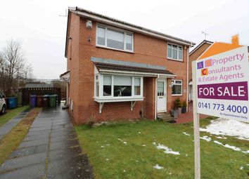 Thumbnail 2 bed semi-detached house for sale in Springcroft Crescent, Baillieston