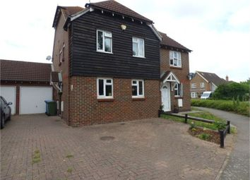 Thumbnail 3 bed semi-detached house for sale in Kingfisher Close, Iwade, Iwade, Kent