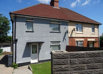 Thumbnail 3 bed semi-detached house to rent in Archer Road, Ely, Cardiff.