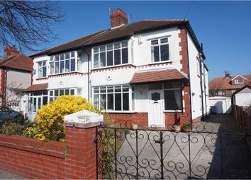 Thumbnail 4 bed semi-detached house for sale in Manor Road, Crosby