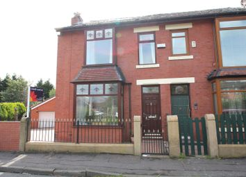 Thumbnail 3 bed semi-detached house for sale in Heywood Road, Castleton, Rochdale, Greater Manchester