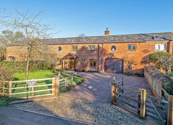 Thumbnail 5 bed barn conversion for sale in Ainsworth Lane, Crowton, Northwich