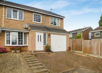 Thumbnail 5 bed semi-detached house for sale in Cottesmore Way, Wellingborough