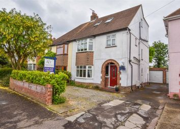 Thumbnail 5 bed semi-detached house for sale in De Vere Road, Colchester, Essex