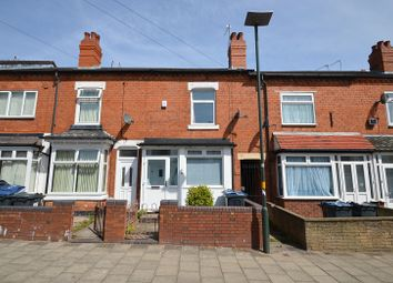 Thumbnail 3 bedroom terraced house for sale in Milner Road, Birmingham, West Midlands.