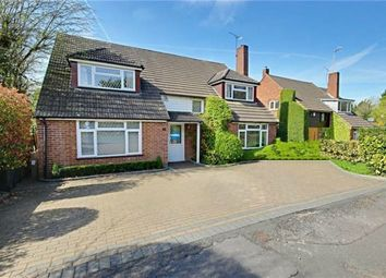 Thumbnail 4 bed detached house for sale in Kitswell Way, Radlett, Hertfordshire