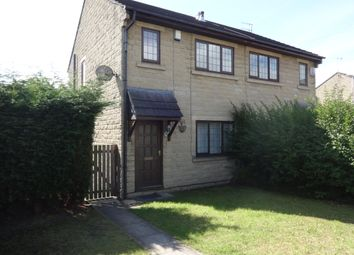 Thumbnail 3 bed semi-detached house to rent in Ealing Court, Batley