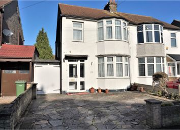 Thumbnail 3 bed semi-detached house for sale in Derby Avenue, Romford