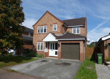 Thumbnail 4 bed detached house for sale in Dunston Drive, Hessle