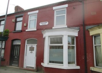 Thumbnail 2 bedroom property to rent in Grosvenor Road, Wavertree, Liverpool