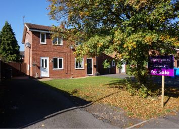 Thumbnail 2 bed semi-detached house for sale in Gleneagles Road, Perton, Wolverhampton
