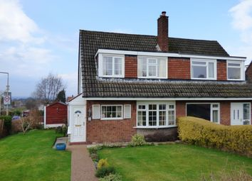 Thumbnail 3 bedroom semi-detached house for sale in Lynton Drive, High Lane, Stockport