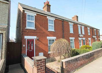 Thumbnail 2 bed end terrace house for sale in Ness Road, Burwell