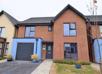 Thumbnail 4 bedroom detached house for sale in Heol Livesey, Barry