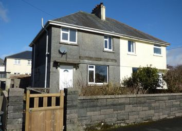 Thumbnail 3 bed semi-detached house for sale in Moorland View, Princetown, Yelverton