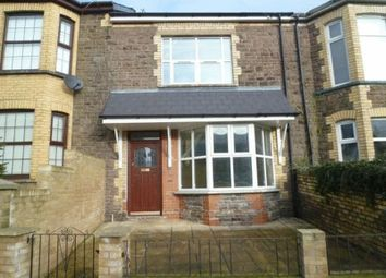Thumbnail 3 bed terraced house to rent in Station Road, Pontnewydd, Cwmbran