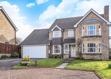 Thumbnail 4 bed detached house for sale in Roberts Close, Stratton, Cirencester