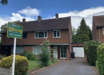 Thumbnail 3 bed semi-detached house for sale in Bunbury Road, Northfield, Birmingham, West Midlands