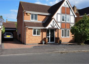 Thumbnail 4 bed detached house for sale in Broadlands Avenue, Bourne