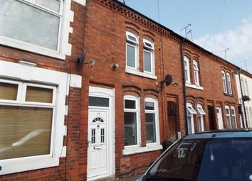 Thumbnail 2 bed terraced house to rent in Lothair Road, Leicester