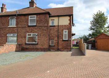 Thumbnail 3 bed semi-detached house to rent in Walesby Lane, New Ollerton, Nottinghamshire