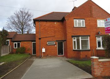 Thumbnail 3 bed semi-detached house for sale in Hall Avenue, Mexborough