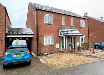 Thumbnail 2 bed semi-detached house for sale in Porthouse Drive, Pinchbeck, Spalding