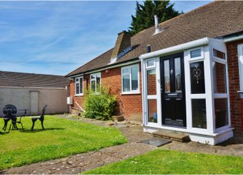 Thumbnail 3 bed detached bungalow for sale in River Drive, Strood, Rochester
