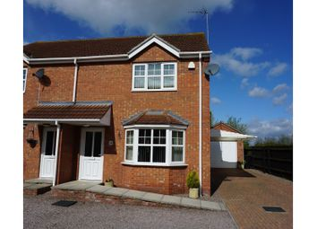 Thumbnail 3 bed semi-detached house for sale in Whetstone Way, Outwell