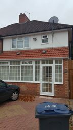 Thumbnail 3 bed semi-detached house to rent in Caldwell Road, Birmingham