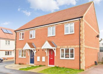 Thumbnail 3 bed semi-detached house to rent in Bell Close, Marham, King's Lynn