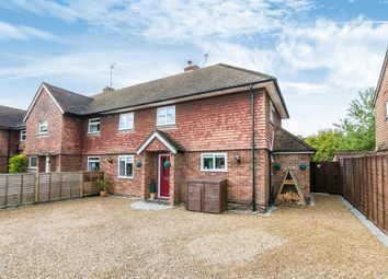 Thumbnail 3 bed end terrace house for sale in Chequers Drive, Horley