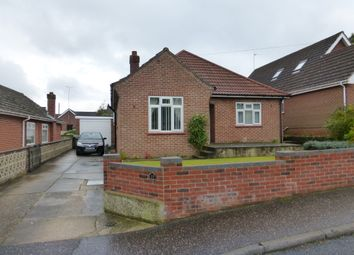 Thumbnail 3 bed detached bungalow for sale in West Road, New Costessey, Norwich