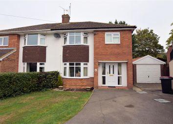 Thumbnail 3 bed semi-detached house for sale in Elmstone Drive, Tilehurst, Reading
