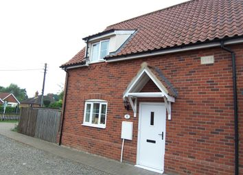 Thumbnail 2 bedroom semi-detached house to rent in The Street, Ashwellthorpe, Norwich