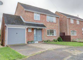 Thumbnail 4 bed detached house for sale in Johnson Crescent, Heacham, King's Lynn