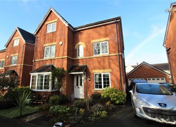 Thumbnail 5 bed detached house for sale in Woodbank Court, Ruabon, Wrexham