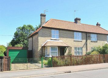 Thumbnail 3 bedroom semi-detached house for sale in Brookside, Huntingdon, Cambridgeshire