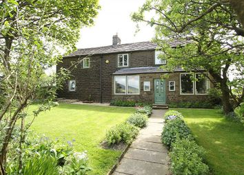 Thumbnail 5 bed detached house for sale in Larkhill Road, Dobcross, Oldham, Greater Manchester
