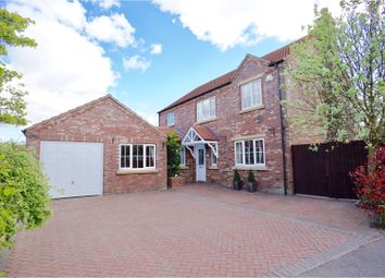 Thumbnail 4 bed detached house for sale in Manor Way, Dunholme
