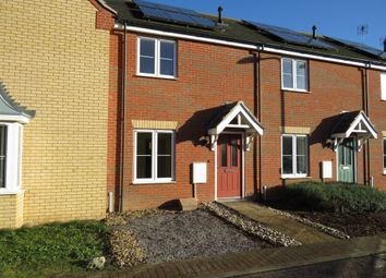 Thumbnail 2 bed terraced house for sale in Whitby Avenue, Eye, Peterborough