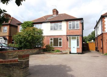 Thumbnail 4 bed semi-detached house to rent in Willow Road, Enfield