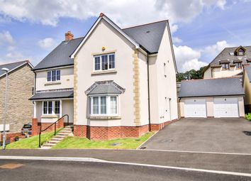 Thumbnail 5 bed detached house for sale in Edmond Locard Court, Chepstow