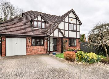 Thumbnail 4 bed detached house for sale in Claverdon Close, Hunt End, Redditch