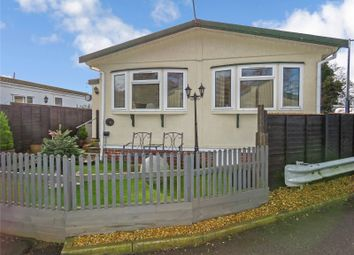 Thumbnail 2 bed mobile/park home for sale in Warboys Road, Old Hurst, Huntingdon, Cambridgeshire