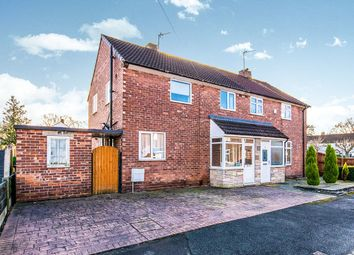 Thumbnail 3 bed semi-detached house for sale in Meriton Road, Handforth, Wilmslow