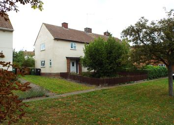 Thumbnail 3 bed semi-detached house for sale in Hinwick Road, Wollaston, Northamptonshire