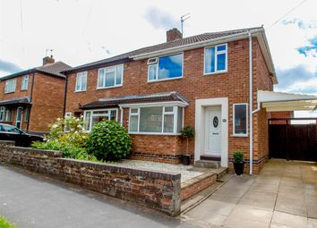 Thumbnail 3 bed semi-detached house for sale in Kelvin Road, Leamington Spa
